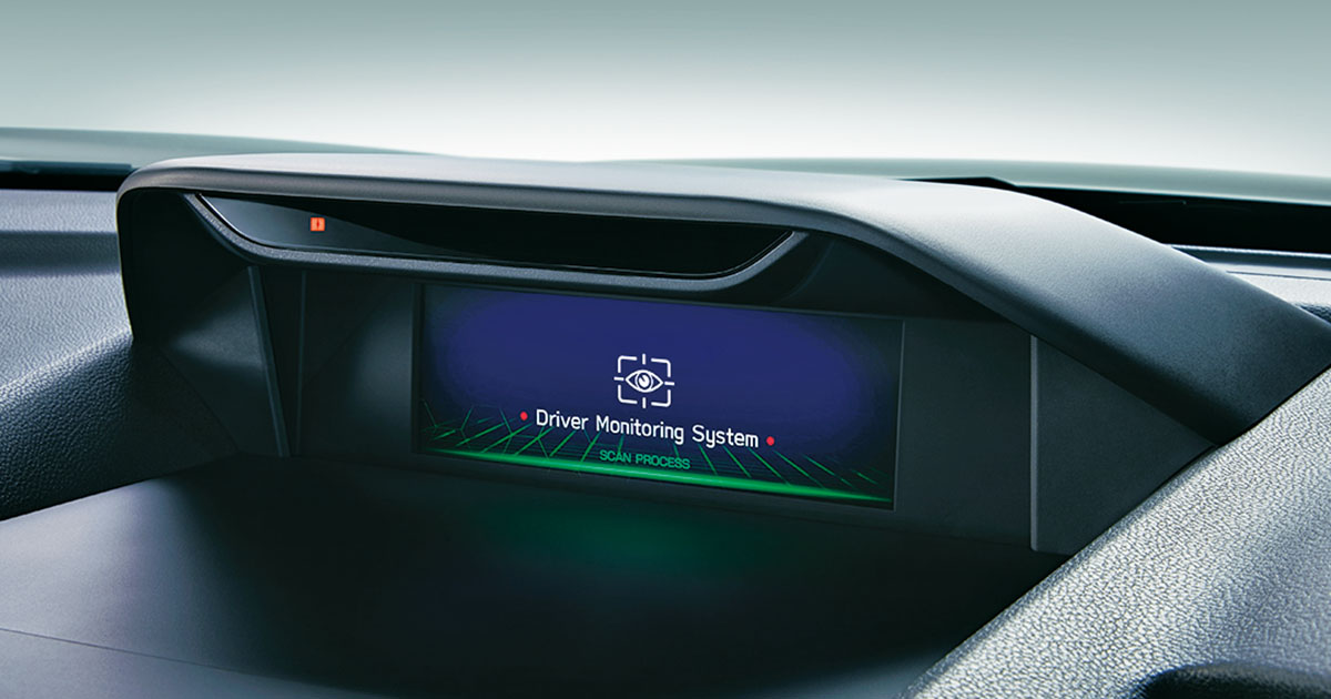 フォレスターのドライバーモニタリングシステム