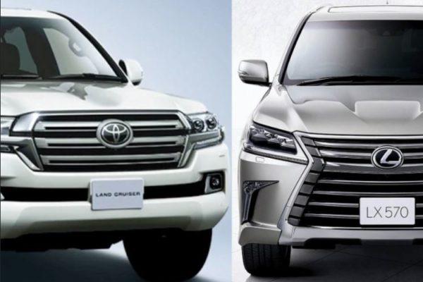 ランドクルーザーとレクサスLX【高級SUV】を比較!どっちがおすすめ?