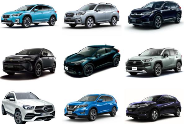 【2021】ミドルサイズSUV人気ランキング5!燃費や価格、サイズを比較!